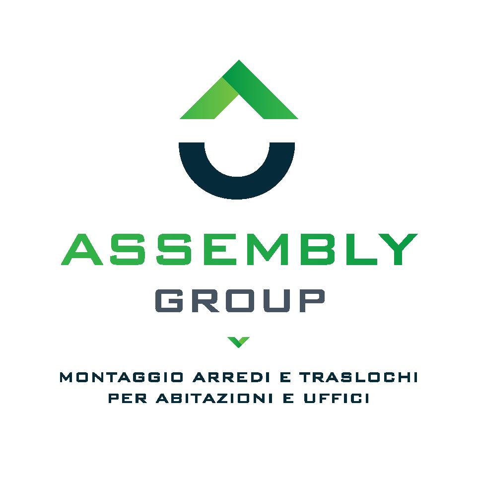 logo assembly group montaggio arredi e traslochi per abitazioni e uffici