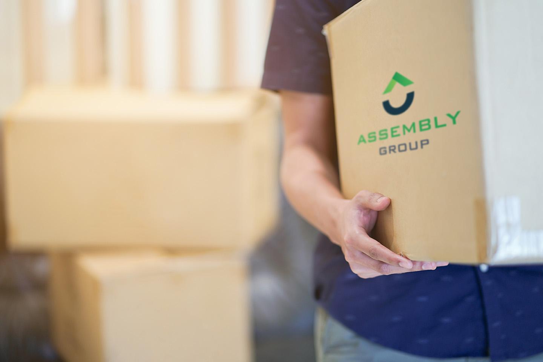 trasloco casa scatola assembly